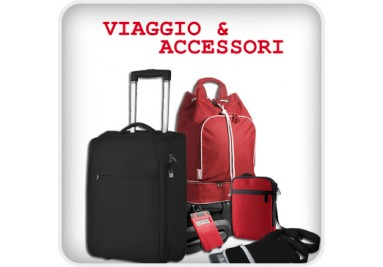 Gadget per viaggi e accessori personalizzati