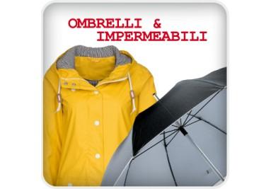 Ombrelli e impermeabili personalizzati